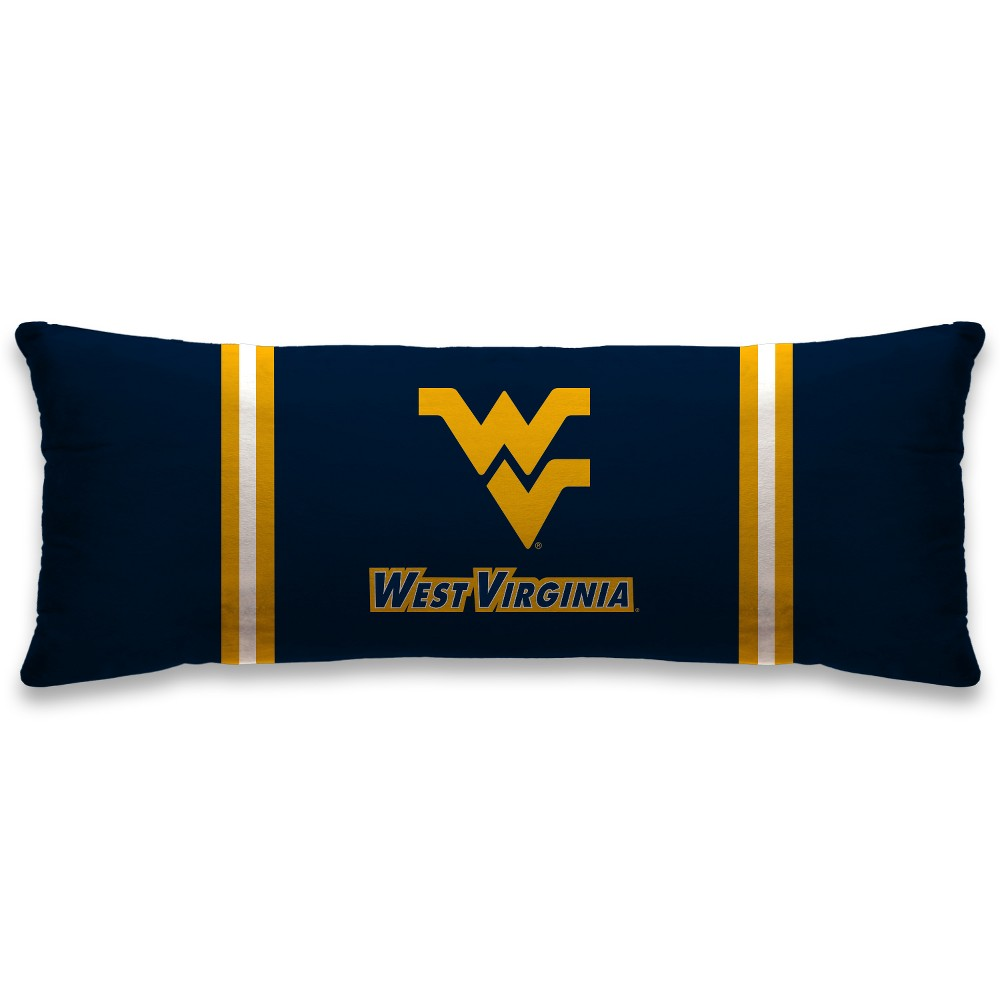 NCAA West Virginia Mountaineers Plush Body Pillow