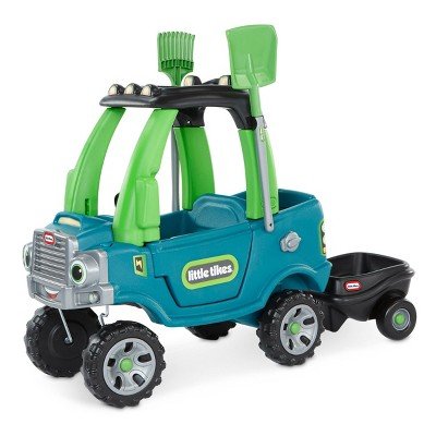 Little Tikes go Green Cozy Truck with Trailer Ride-On