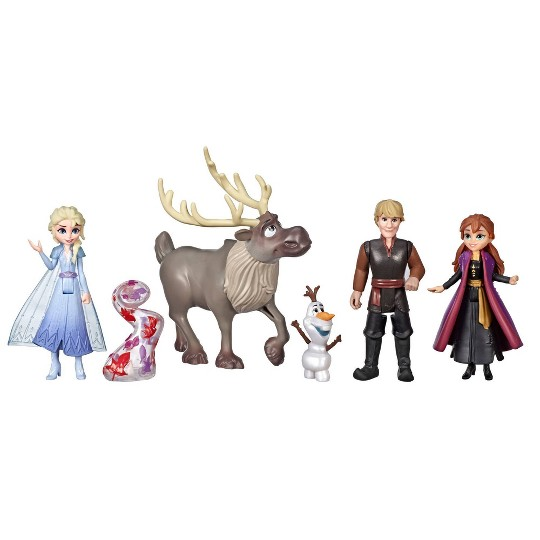 Anna, Elsa, Olaf /& Sven Disney Frozen Exclusive Doll Set Friends Collection