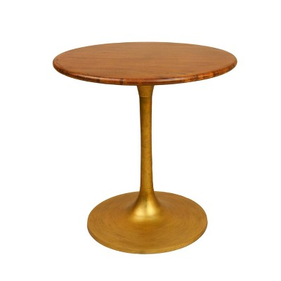 """30"""" Somerset Wood Top Round Dining Table - Carolina Chair & Table"""