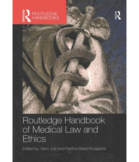 Routledge Handbook of Medical Law and Ethics (Reprint) (Paperback) - image 1 of 1