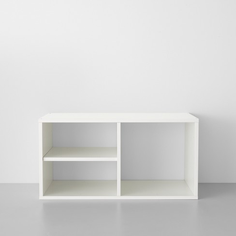 3 Shelf Closet System White - Made By Design™ - image 1 of 4