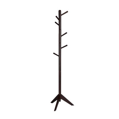 Contemporary Style Hall Tree Coat Rack - Benzara