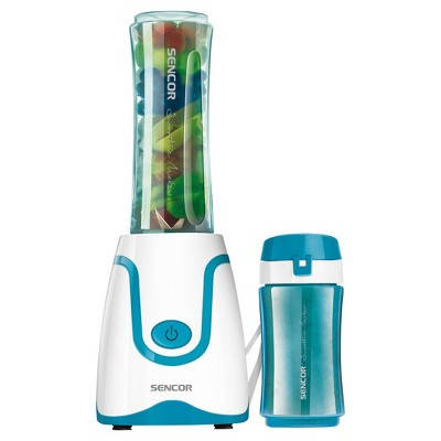 Sencor Smoothie Blender with 2 Bottles - Turquoise