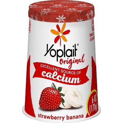 Yoplait Original Strawberry Banana Yogurt - 6oz
