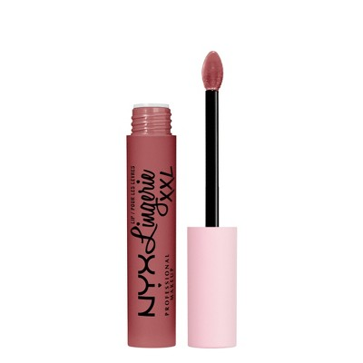 NYX Professional Makeup Lip Lingerie XXL Smooth Matte Liquid Lipstick - 16hr Longwear - 0.13 fl oz