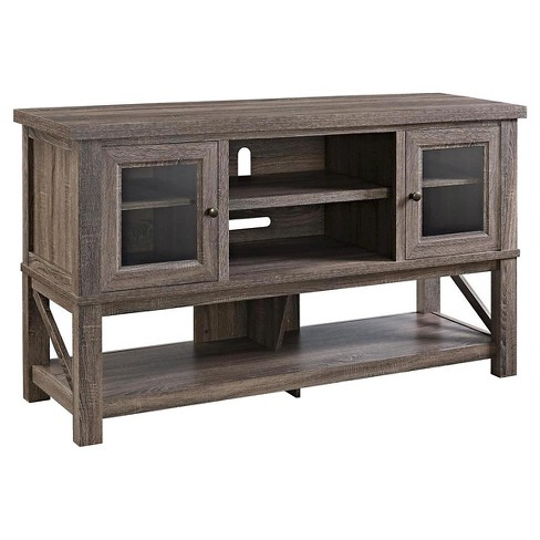 Everett 70 Tv Console With Glass Doors Altra Target