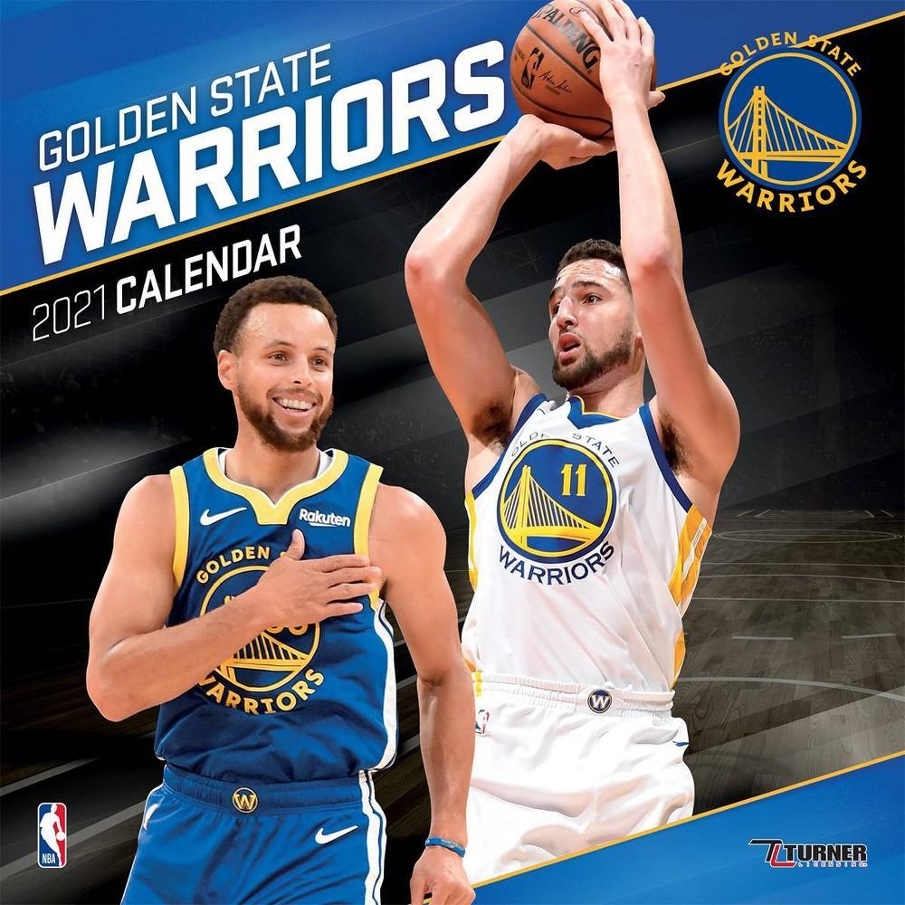 Nba Golden State Warriors 12 34 X12 34 Wall Calendar