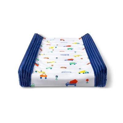 Changing Pad Cover Transportation - Cloud Island™ Navy/White