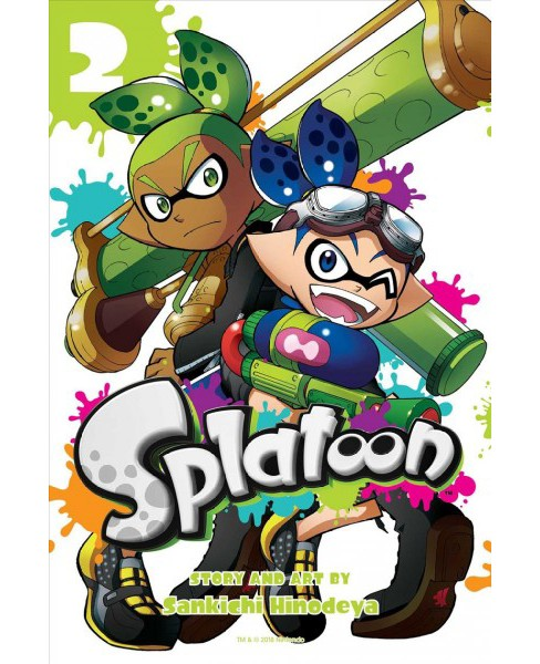 Splatoon 2 -  (Splatoon) by Sankichi Hinodeya (Paperback) - image 1 of 1