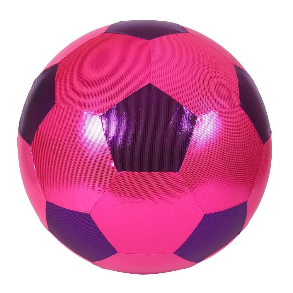 Hedstrom 20 Wowza Soccer Ball - Pink/Purple