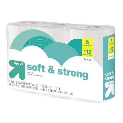 Toilet Paper: up & up Soft & Strong