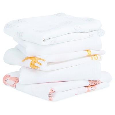 Aden® by Aden + Anais® Musy Squares Security Blanket - Safari Babes