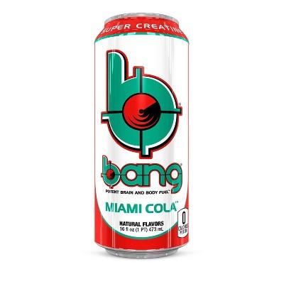 BANG Miami Cola Energy Drink - 16 fl oz Can