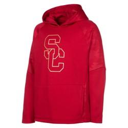 NCAA USC Trojans Boys' Long Sleeve Poly Hoodie