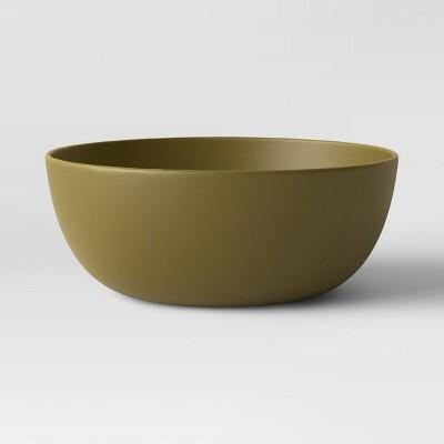 37oz Plastic Cereal Bowl Dark Green - Room Essentials™