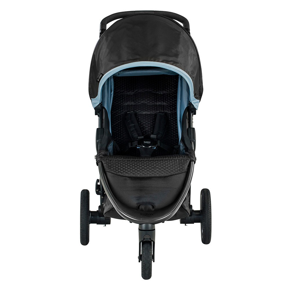 Image of Britax B-Free Stroller - Frost, Blue Black