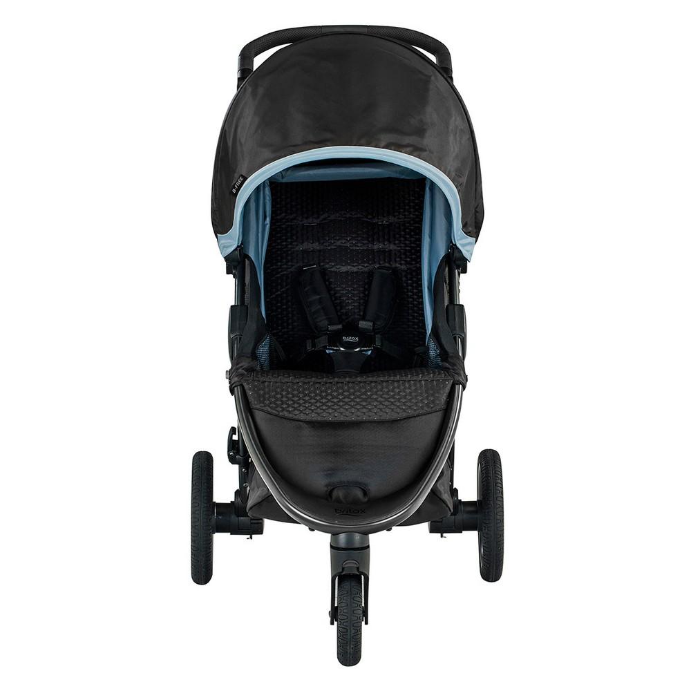 Image of Britax B-Free Stroller - Frost, Blue Black