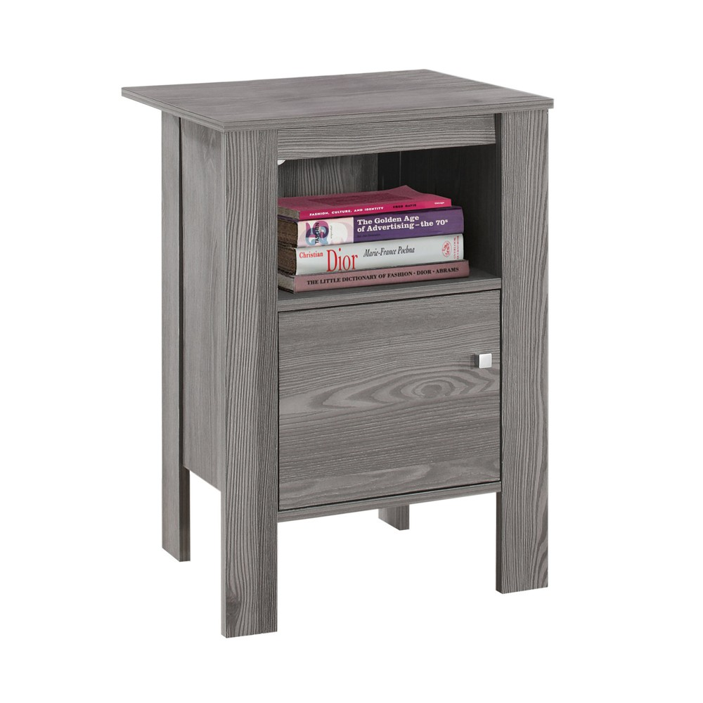 Accent Table/Night Stand - Grey - EveryRoom, Gray