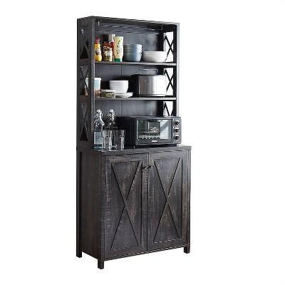 Elegant Wall Bar Cabinet - Home Source