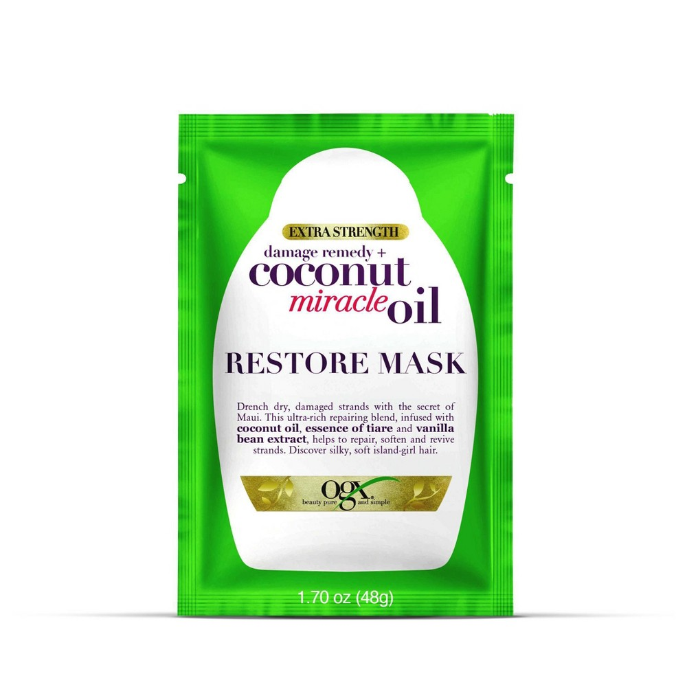 Image of OGX Coconut Miracle Oil Hair Mask - 1.7oz