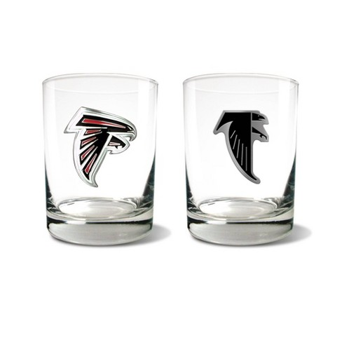 NFL Atlanta Falcons Rocks Glass Set - 2pc - image 1 of 1