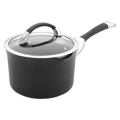 Circulon Symmetry 3.5 Quart Covered Straining Saucepan - image 1 of 5