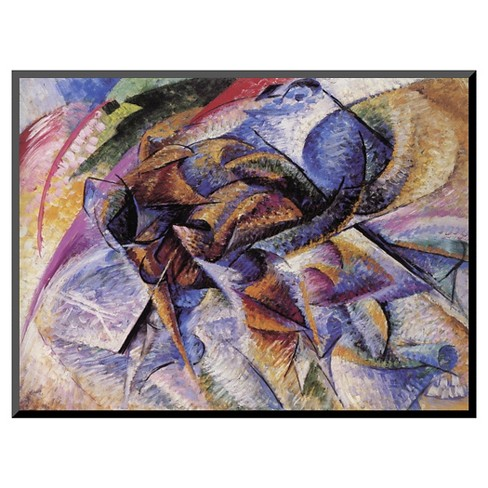 Art.com The Dynamism of a Cyclist by Umberto Boccioni - Mounted Print - image 1 of 2