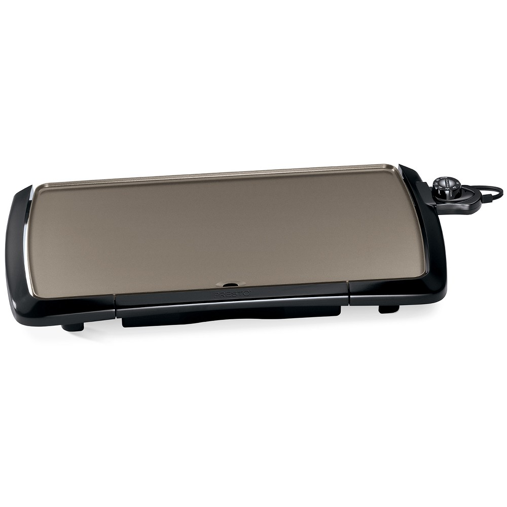 Presto Ceramic Cool Touch Griddle – Black 54218194