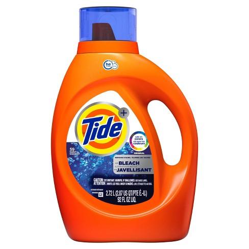 Tide Original Plus Bleach Alternative High Efficiency Liquid Laundry Detergent - 92 fl oz - image 1 of 4