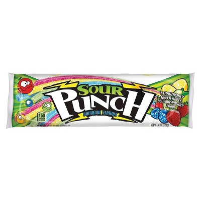 Sour Punch Straws