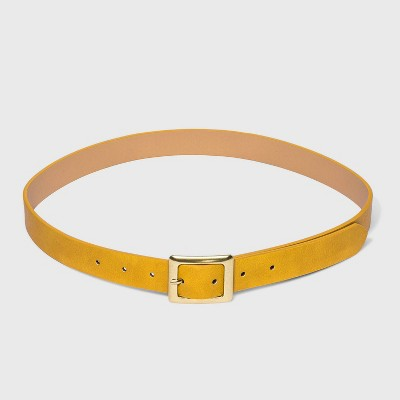 Women's Square Buckle Belt - Universal Thread™
