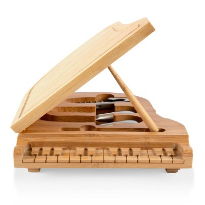 Bamboo Grand Cheese Serving Set - Picnic Time