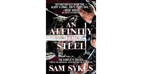 Affinity for Steel : Tome of the Undergates, Black Halo, The Skybound Sea (Paperback) (Sam Sykes) - image 1 of 1