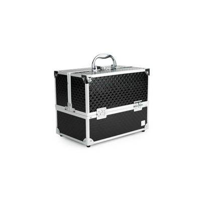 Caboodles Lovestruck 6-Tray Train Case Black Diamond