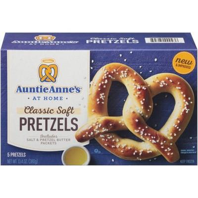 Auntie Anne's Classic Soft Frozen Pretzels - 13.4oz/5ct
