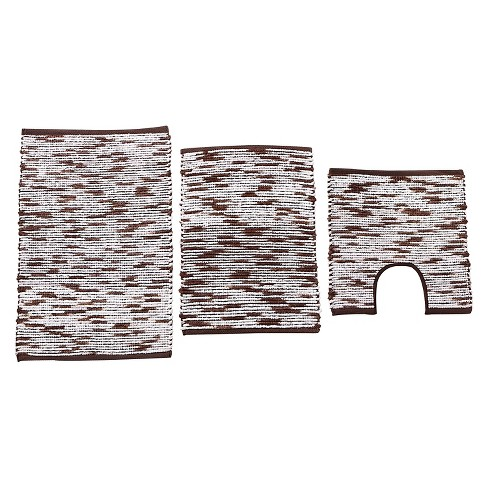 Stax Spacedye Bath Rug Set 3pc - VCNY® - image 1 of 2