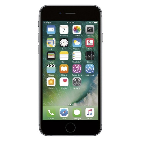 Apple iPhone 6s Certified Pre-Owned (GSM Unlocked) 64GB Smartphone - Space Gray - image 1 of 2