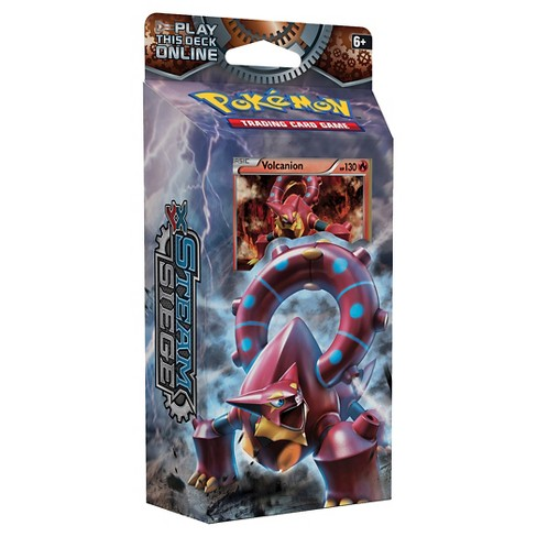 Pokemon Trading Card Game Steam Siege Gears of Fire Theme Deck Feat. Volcanion - image 1 of 2