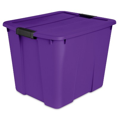 20gal Utility Storage Tubs And Totes Royal Purple - Sterilite