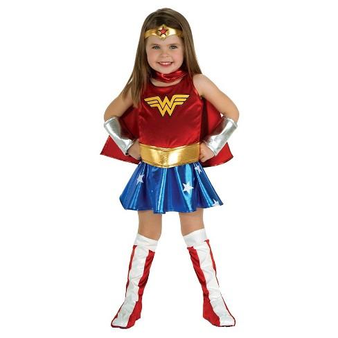 Toddler Girls Dc Super Hero Girls Wonder Woman Costume 2t Target