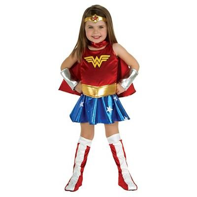 Elegant Toddler Girlsu0027 DC Super Hero Girls Wonder Woman Costume   2T