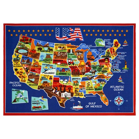 Smithsonian United States of America Rug (5'x7') on map australia, map germany, map of north america, map russia, map iraq, map italy, new york, map new zealand, continents of america, usa map of america, map mexico, map bermuda, 1900 map of america, map of west indies caribbean islands, map canada, map china, united kingdom, north america, map panama, new york city, map taiwan, map costa rica, land bridge from asia to north america, map georgia,