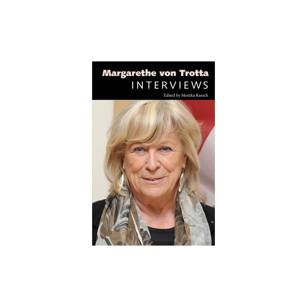 Margarethe Von Trotta : Interviews - (Conversations With Filmmakers) (Hardcover)