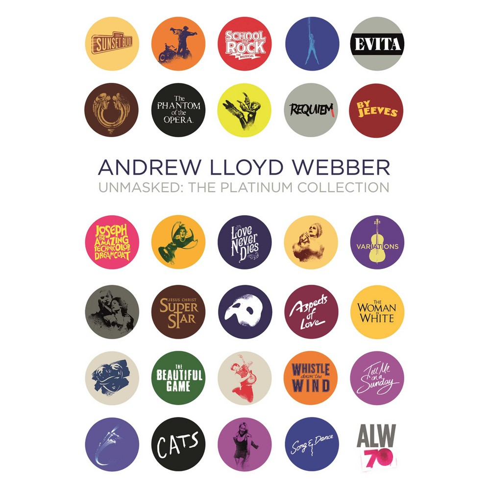 Andrew Lloyd Webber - Unmasked:Platinum Collection (CD)
