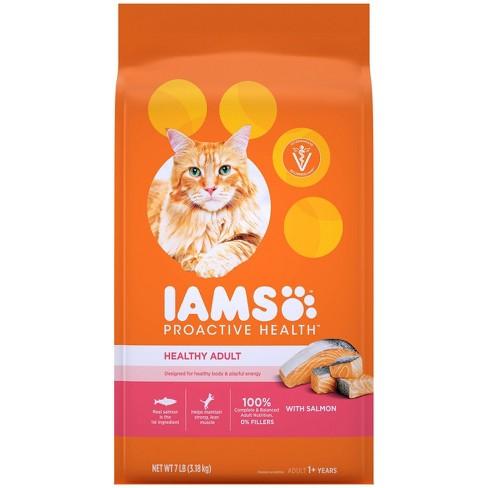 Iams Proactive Health with Salmon Adult Premium Dry Cat Food - image 1 of 4