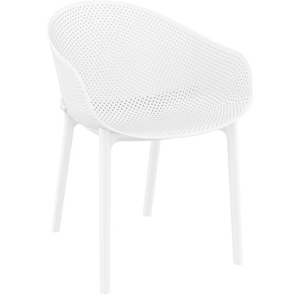 Image of 4pk Sky Armchair - White - Resol