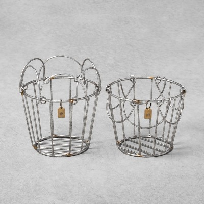Metal Wire Mini Basket Set of 2 - Hearth & Hand™ with Magnolia