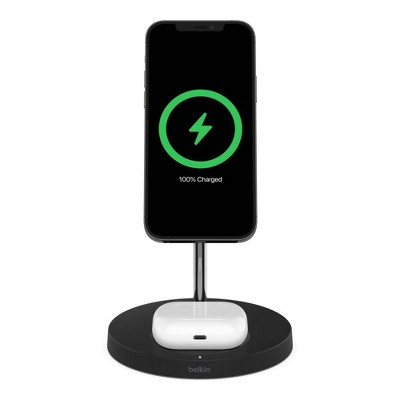 Belkin BoostCharge Pro 2 in 1 Magnetic Wireless Charger with MagSafe