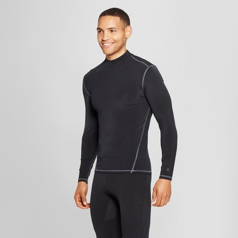 5451f8323f56 Men's Long Sleeve Mock Neck Compression T-Shirt - C9 Champion® : Target